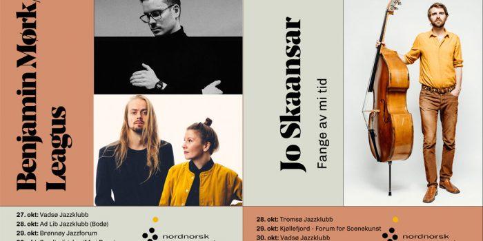 Visejazz og dobbel nordnorsk på turné