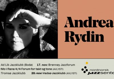 Høstens siste turné: Andrea Rydin